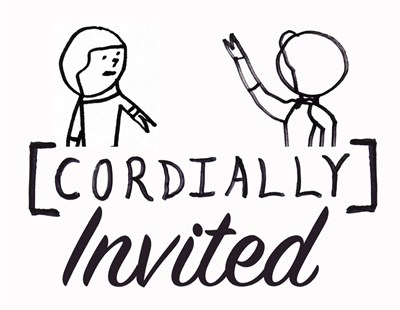 You are Cordially Invited Logo