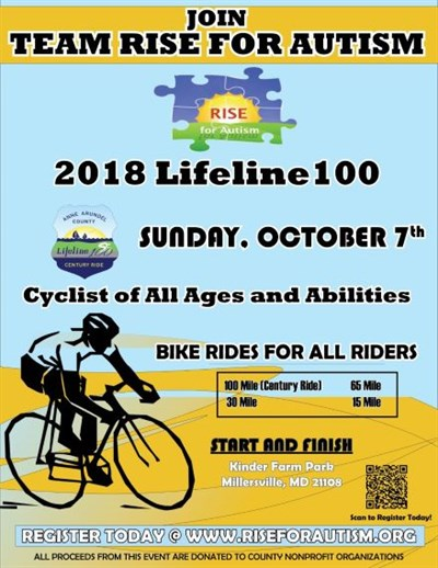 LIFELINE100 RISE Flyer