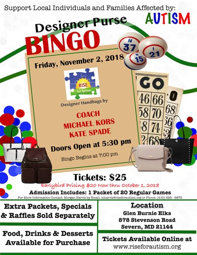 RISE Bingo Flyer