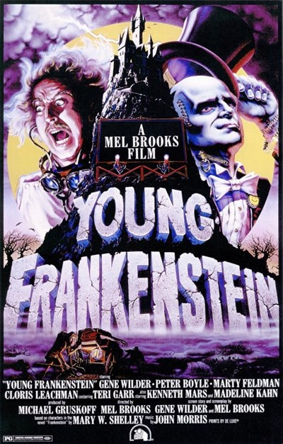 Movie poster of Young Frankestein