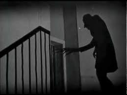 Movie still with Nosferatu