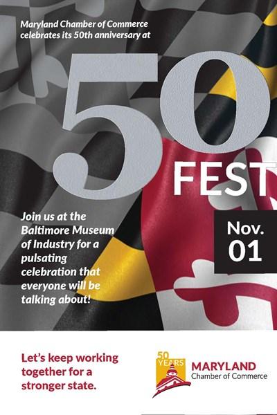 50 Fest Poster