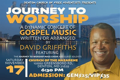 Journey to Worship Concert Poster