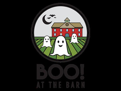 Ghosts hovering in front of the Arts Barn