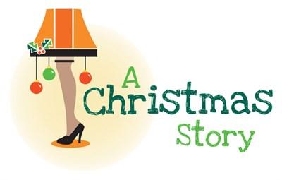 iconic Christmas Story leg lamp