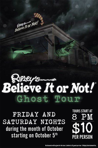 Paranormal Ghost Tour poster