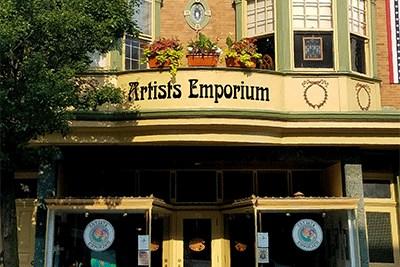 Exterior of the Artists Emporium