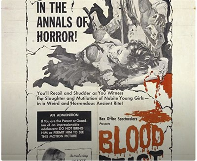 Herschel Gordon Lewis Blood Trilogy