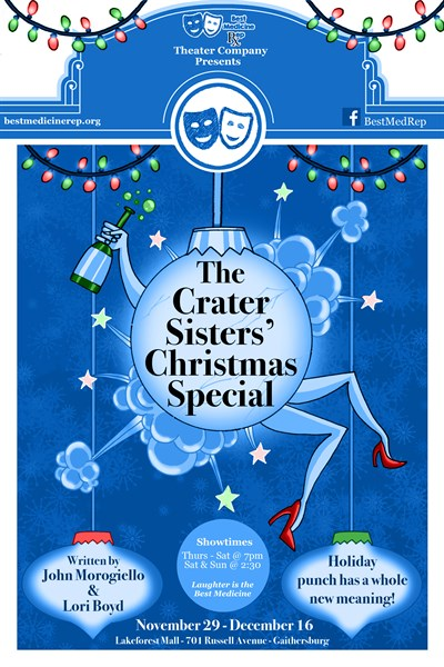 The Crater Sisters' Christmas Special Poster