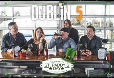 Halfway to St. Paddy's Day Cruise with Dublin 5