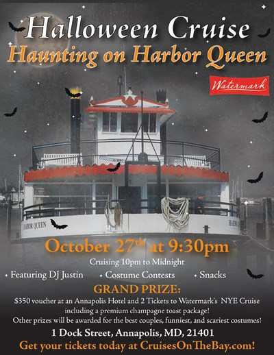 Haunting on Harbor Queen Poster