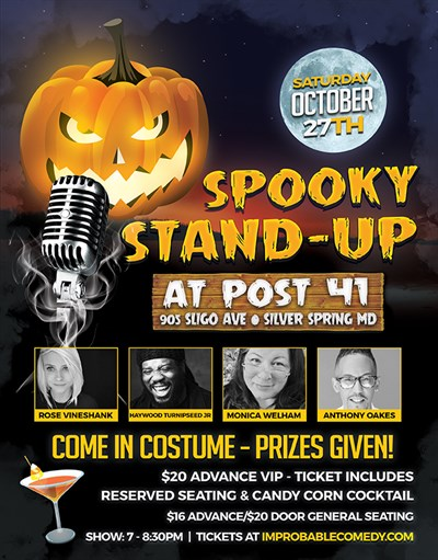Spooky Stand-Up