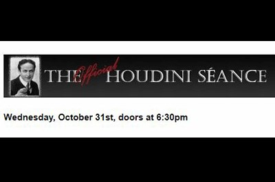 The Official Houdini Seance Banner