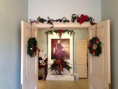 Carroll Mansion foyer