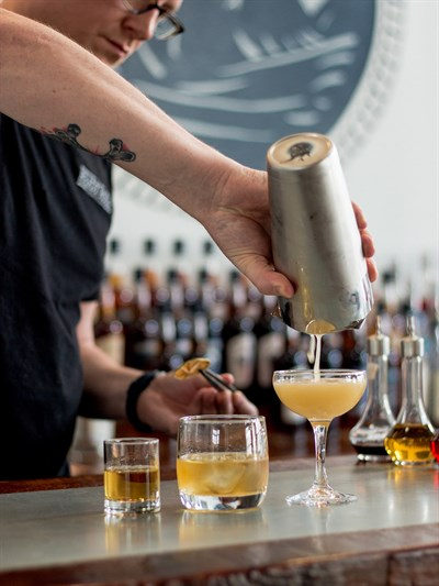 Cocktail Bar at Old Line