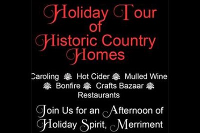Holiday Tour of Historic Homes Poster