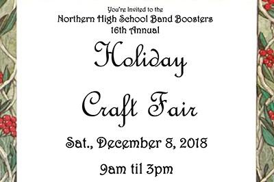 Holiday Craft Fair flier