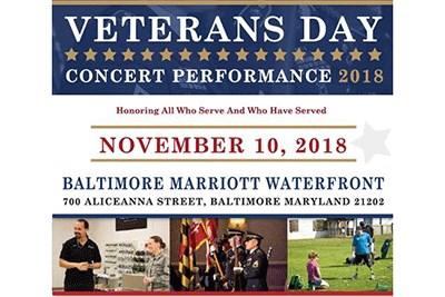 Veterans Day Concert flyer