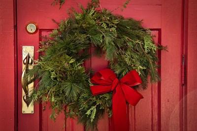 Holiday Wreath from Annual Christmas Bazaar