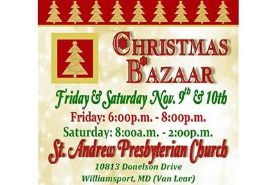 Christmas Crafts Bazaar flyer