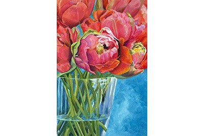 Parrot Tulips In Amsterdam by artist Pat Coates