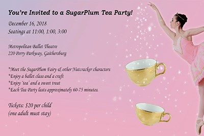Sugar Plum Tea Party poster