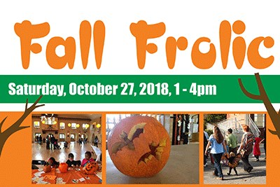 Glen Echo Park's Fall Frolic poster