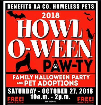 Howl-O-Ween Paw-ty poster