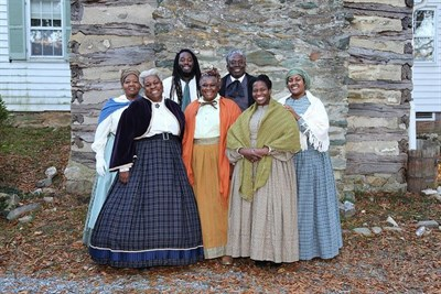 Washington Revels Jubilee Voices at a historic Maryland site.