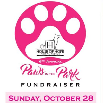 Paws in the Park poster
