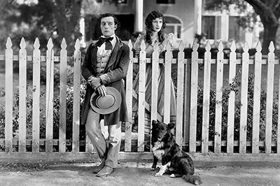 Buster Keaton & Natalie Talmadge in Our Hospitality