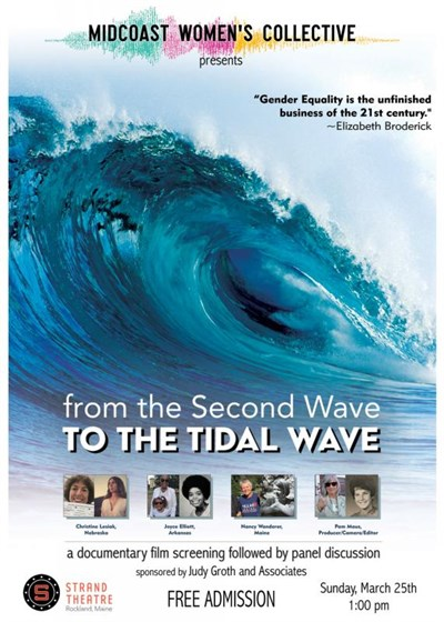 From the Second Wave to the Tidal Wave Poster