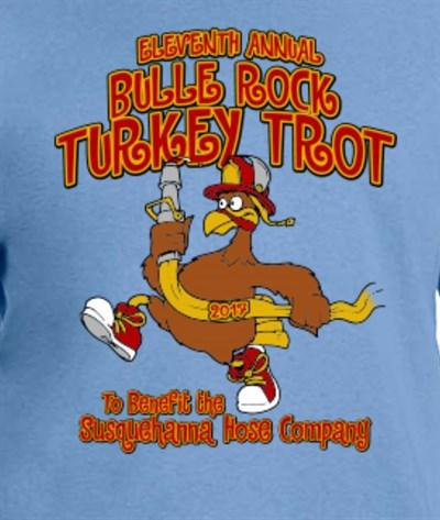 Bulle Rock Turkey Trot 5K logo