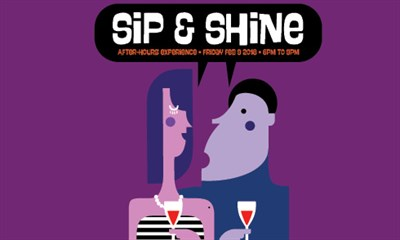 Sip and Shine flyer