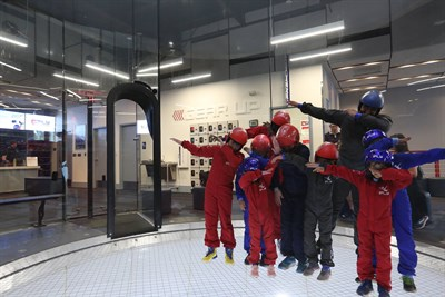 Flight School Kids at iFLY