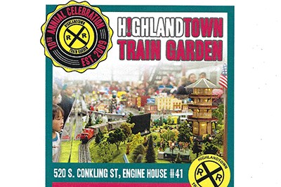 Highlandtown Train Garden 2018 Flyer