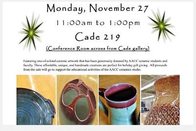 Ceramics Sale Flyer