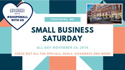 Frostburg Small Business Saturday