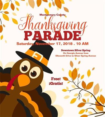 Turkey Thanksgiving Parade poster