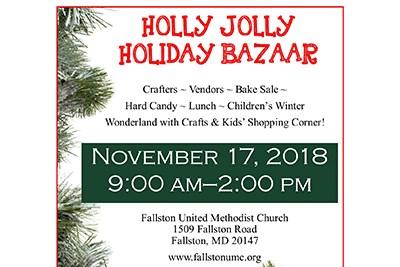 Holiday Bazaar flyer
