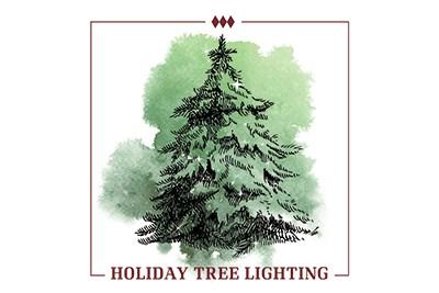 Holiday Tree Lighting flyer