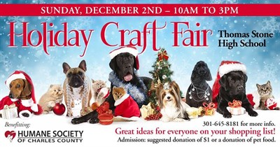 2018 Holiday Craft Fair flyer