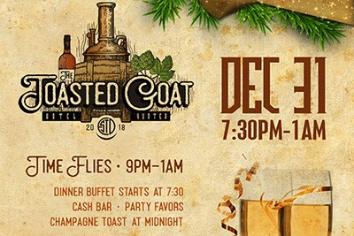 New Year's Eve at Toasted Goat Winery Poster