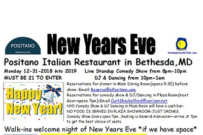 New Years Eve at Positano poster