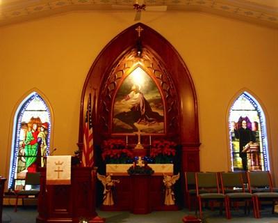 Mt. Zion United Methodist Church, Myersville