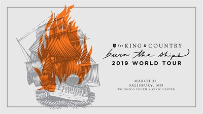For King & Country Burn the Ships poster
