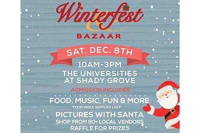 Winterfest Bazaar Flyer