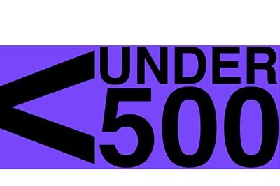 Under 500 logo