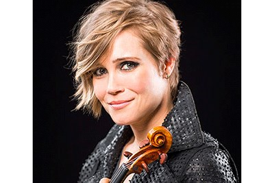 Leila Josefowicz performs with the BSO
