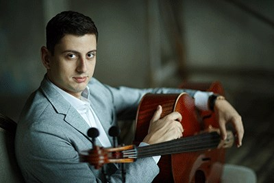 Narek Hakhnazaryan performs with the BSO